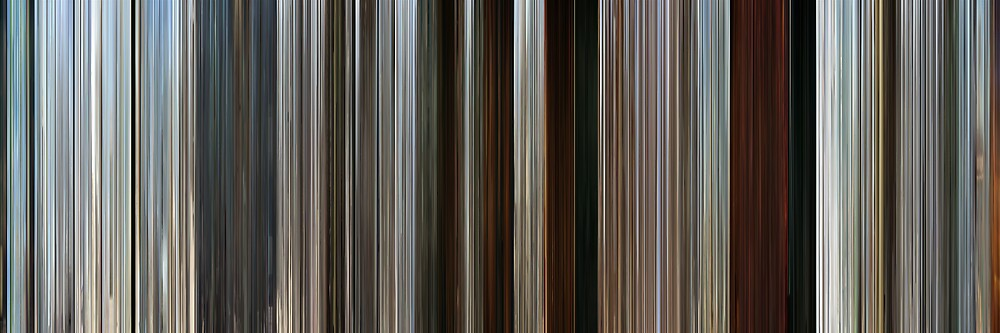 Moviebarcode: Rango (2011) by moviebarcode