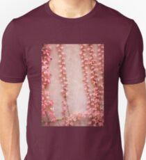 Red leaves of parthenocissus quinquefolia Unisex T-Shirt