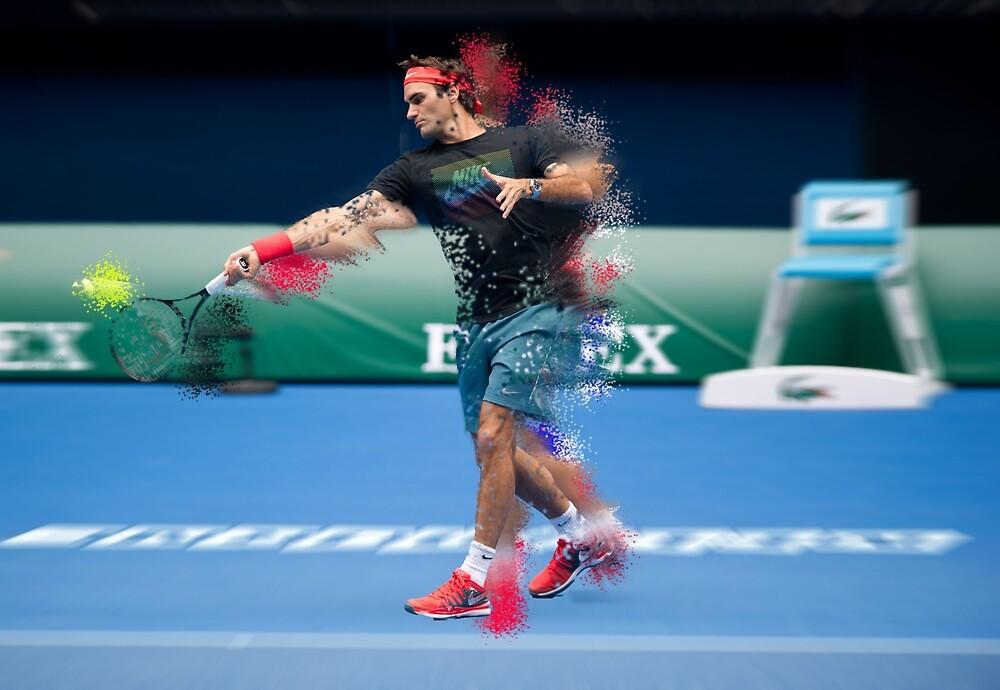 Roger Federer by NickMeding17