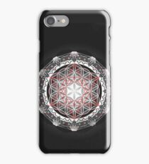 Flower of Life & Metatrons Cube iPhone Case/Skin