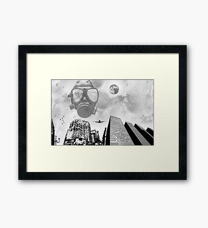 SIN CITY. Framed Print