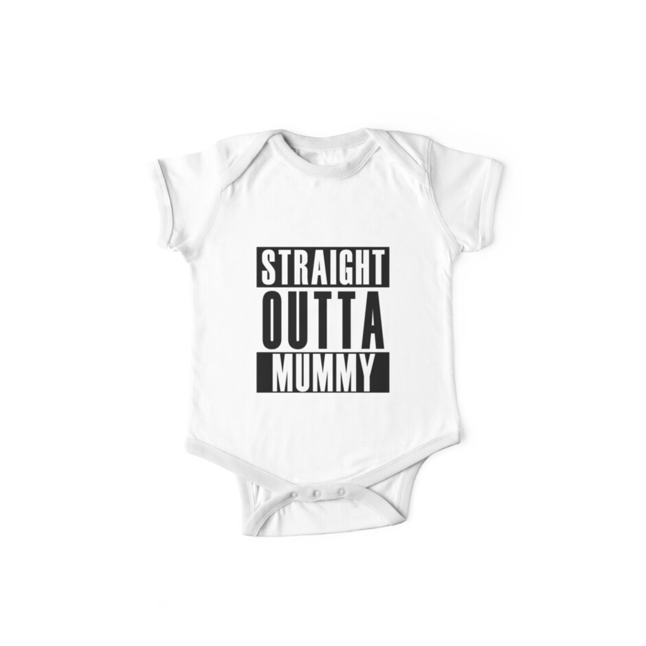 Straight Outta Mummy by thehiphopshop