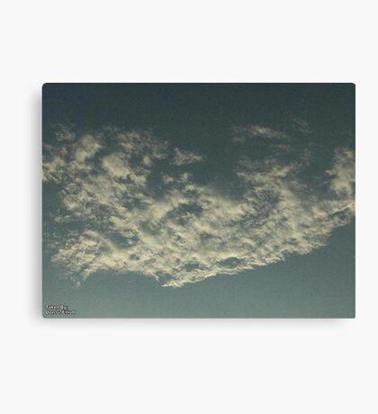 Sky Or Ocean ? Canvas Print