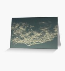 Sky Or Ocean ? Greeting Card
