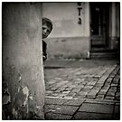 Curious boy by Morten Kristoffersen