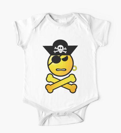 Pirate Emoticon - GRRR Kids Clothes