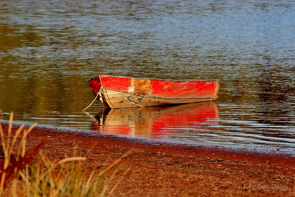 Red on Reflection by Kathleen Daley