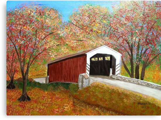 Covered bridge by maggie326