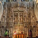 Winchester Cathedral Reredos (altar screen) by NeilAlderney