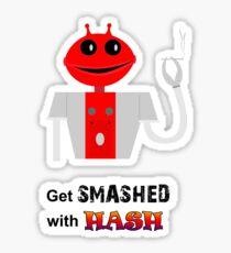 Smashed Sticker