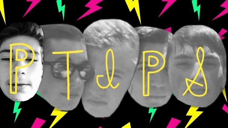 P-Tips Official Sticker v4 by Josh Young
