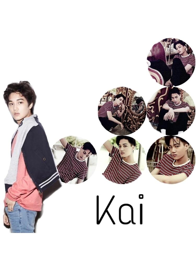 Kai then - now  by satansaysyo