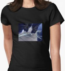 A Cats Trip Women's Fitted T-Shirt