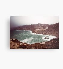 Sliabh Liag in Winter Metal Print