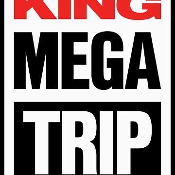 King Megatrip VSW logo (light shirt version) by Megatrip