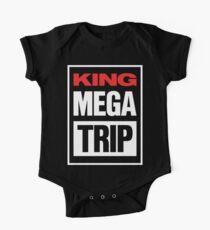 King Megatrip VSW logo (dark shirt version) One Piece - Short Sleeve