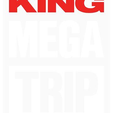 King Megatrip VSW logo (dark shirt version) by Megatrip