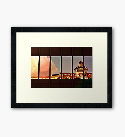 Montreal Reflections III Framed Print