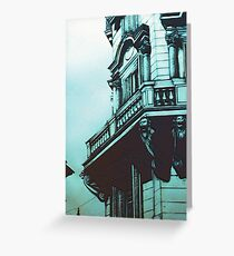 Roman Facade Greeting Card