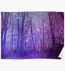 Trees of Purple Poster