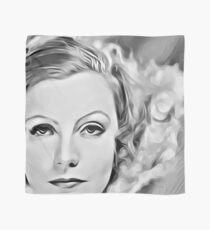 Portrait of Greta Garbo, famous Swedish actress in Hollywood in mid-twentieth century Scarf