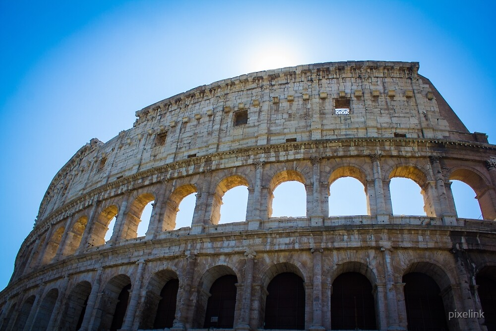 The Colosseum, Rome by pixelink