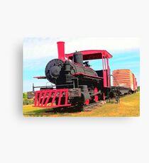 Restored Locomotive Canvas Print