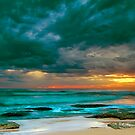 Bateau Bay Sunrise  by Mark  Lucey
