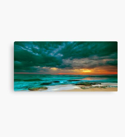 Bateau Bay Sunrise  Canvas Print