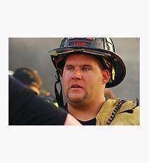 Fireman Photographic Print