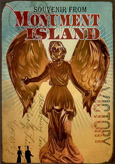 BioShock Infinite – Souvenir from Monument Island by PonchTheOwl