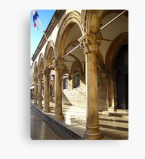Columns - Dubrovnik Canvas Print