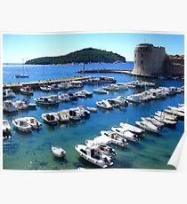 Port - Dubrovnik Poster