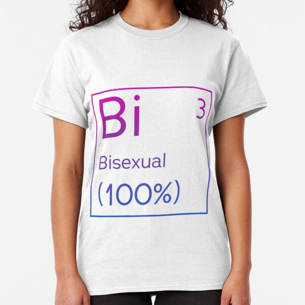 Bi on the Queeriotic table Classic T-Shirt