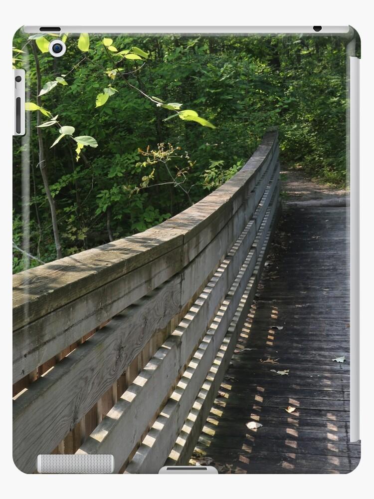 Wetland Bridge in August by marybedy