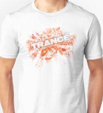 Trance – Electronic Dance Music - Orange T-Shirt