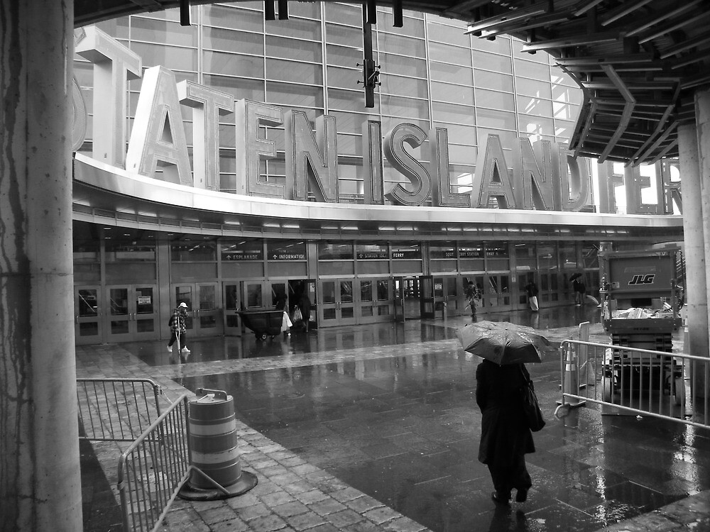 Staten Island Ferry Terminal by Stephen Fry