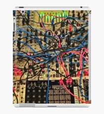 Synthesizer Control Panel Cable Maze iPad Case/Skin
