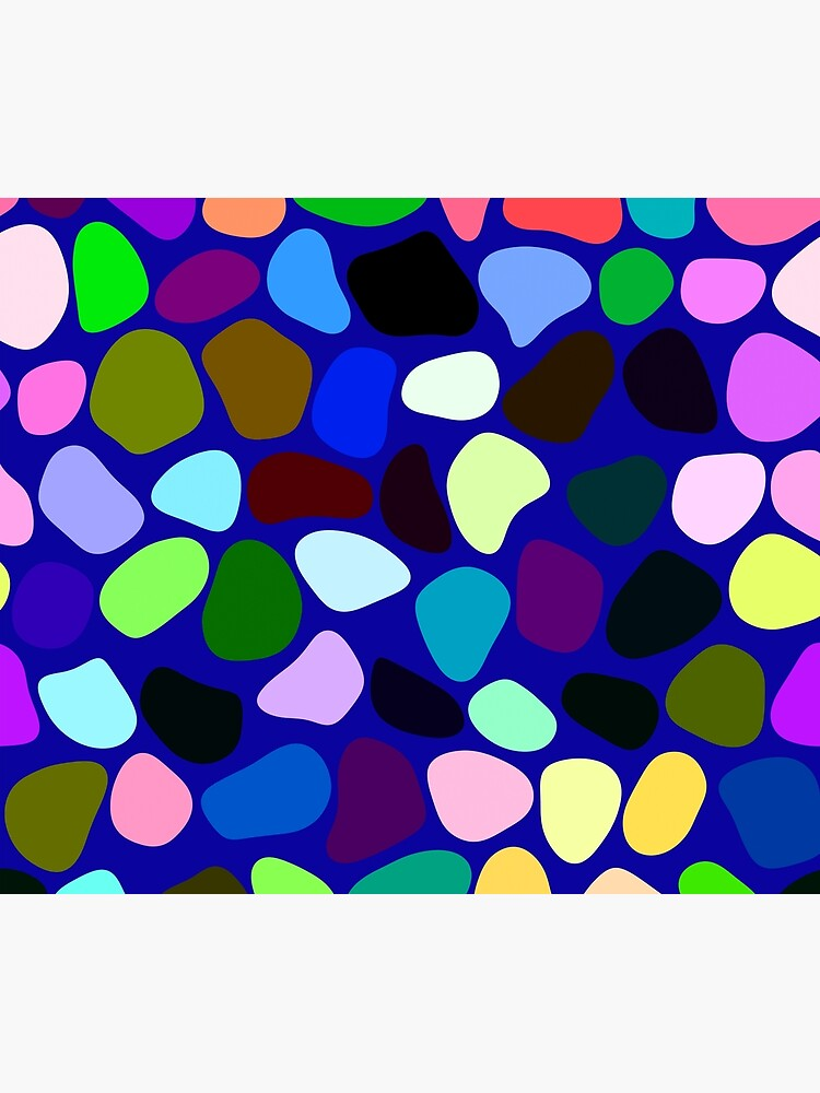 Irregularly colored shapes at random by starchim01