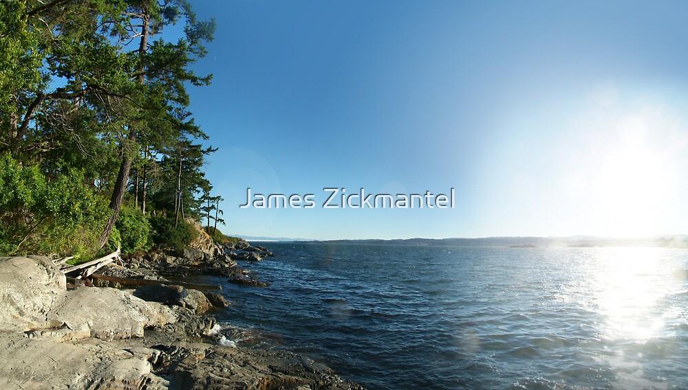 Rugged Coast (panorama) by James Zickmantel