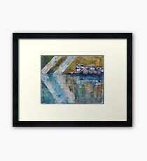 Révélation, featured in The Group, Painters Universe, The best of Red Bubble Framed Print