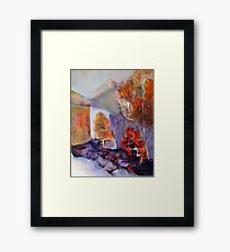 Intimiste, featured in Painters Universe, virtual museum Framed Print