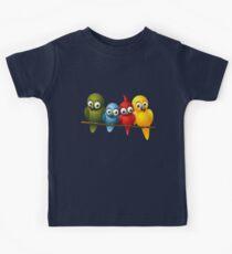 Cute overload - Birds Kids Tee