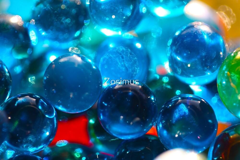 Shinning glass beads by Zosimus