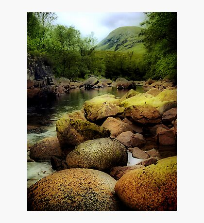 River Etive  Photographic Print