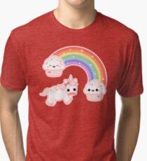 Cute Cupcake Unicorn Tri-blend T-Shirt