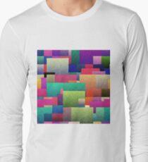Decorative geometric shapes Long Sleeve T-Shirt