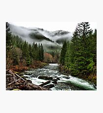 Winters Joy ~ Quartzville Creek Winter ~ Photographic Print