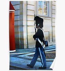 Guard on Patrol Poster