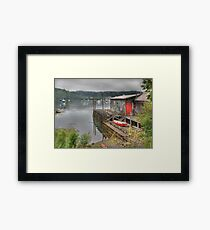 The Old Wharf Framed Print